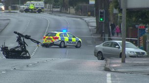 Bomb found under car in east Belfast