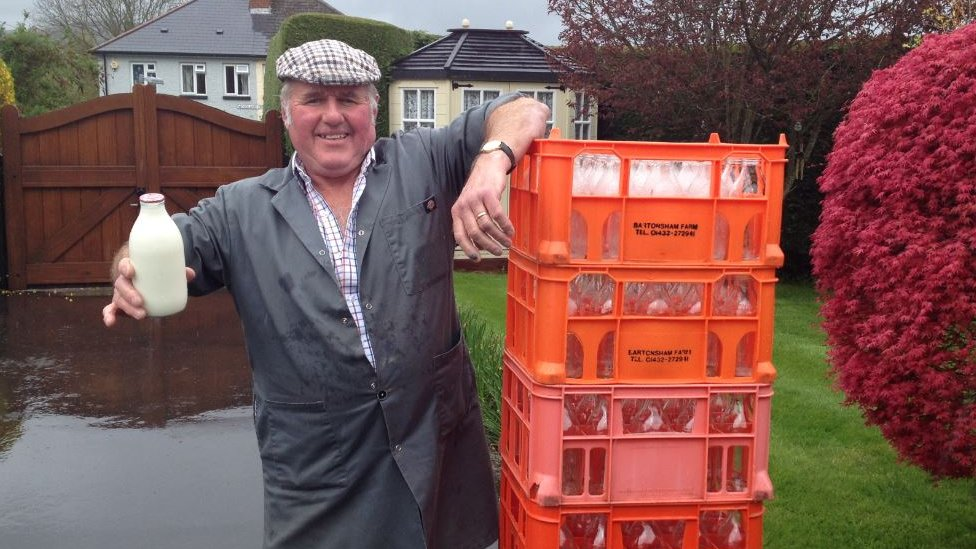 Martin delivers to around 350 houses across Monmouthshire