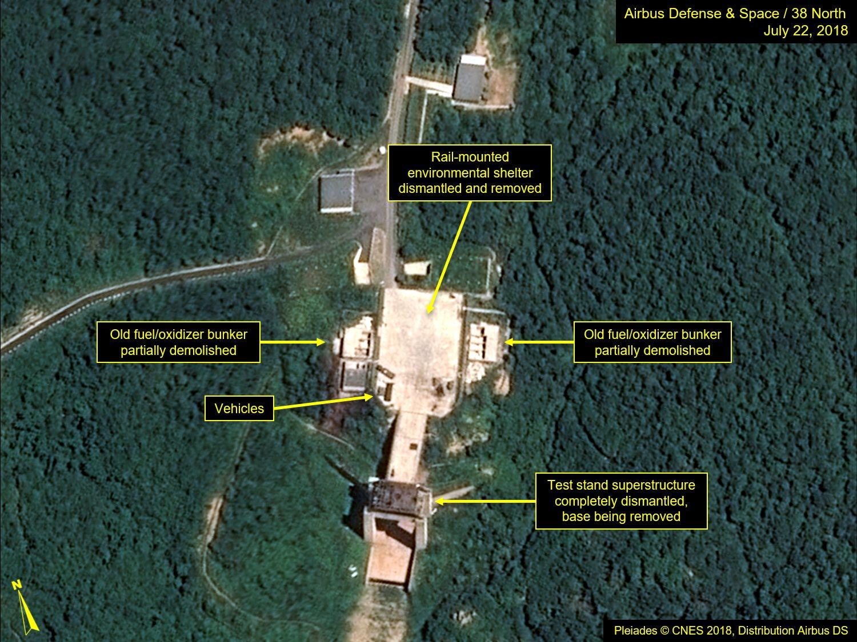 Imágenes satelitales de 38 North.
