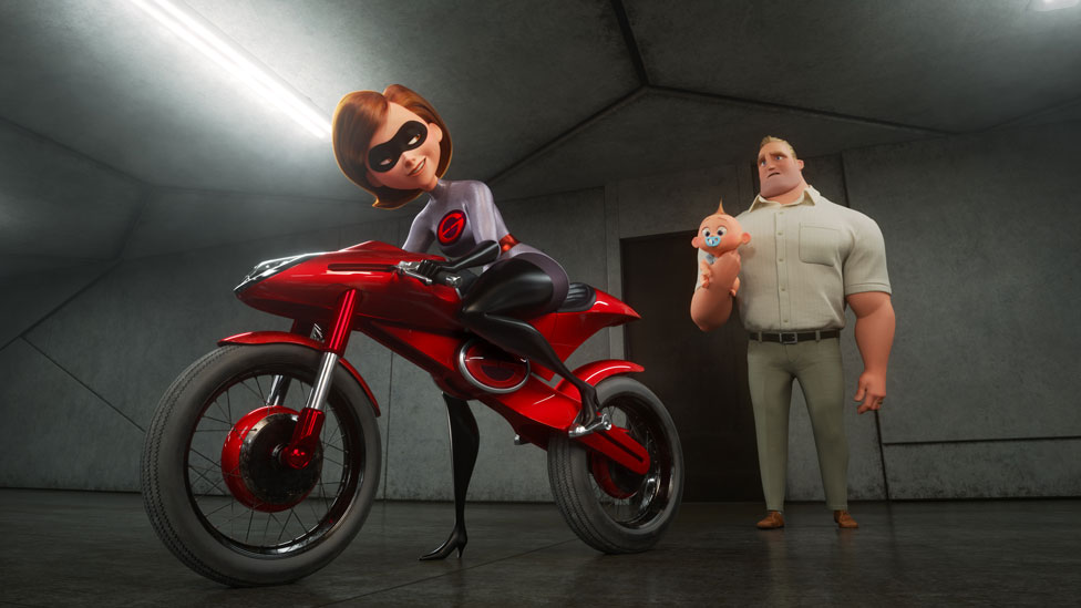 A scene from Incredibles 2