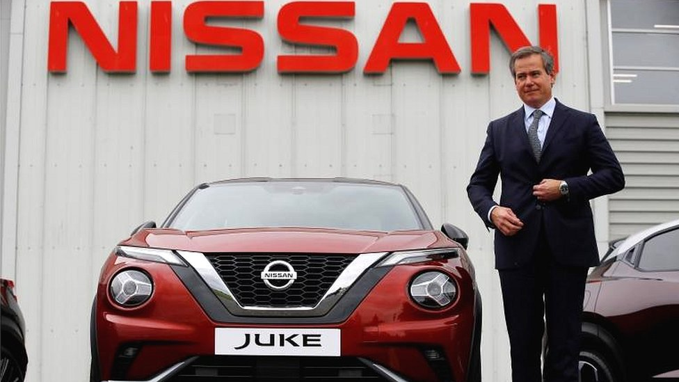 "Nissan""s European Chairman Gianluca de Ficchy"