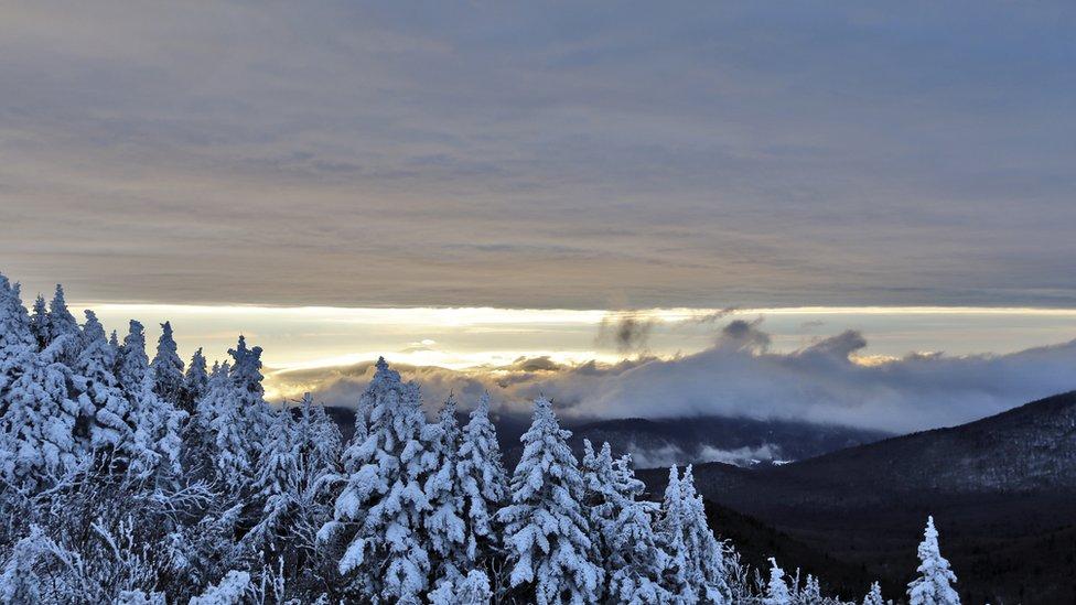 Montañas de Vermont, Estados Unidos