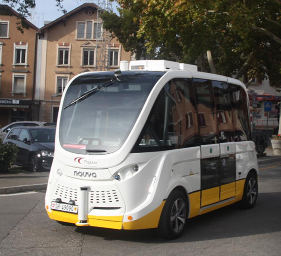 حافلة صغيرة