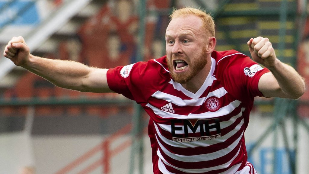 Hamilton Academical 1-0 St Johnstone: Accies safe after winning to finish 10th