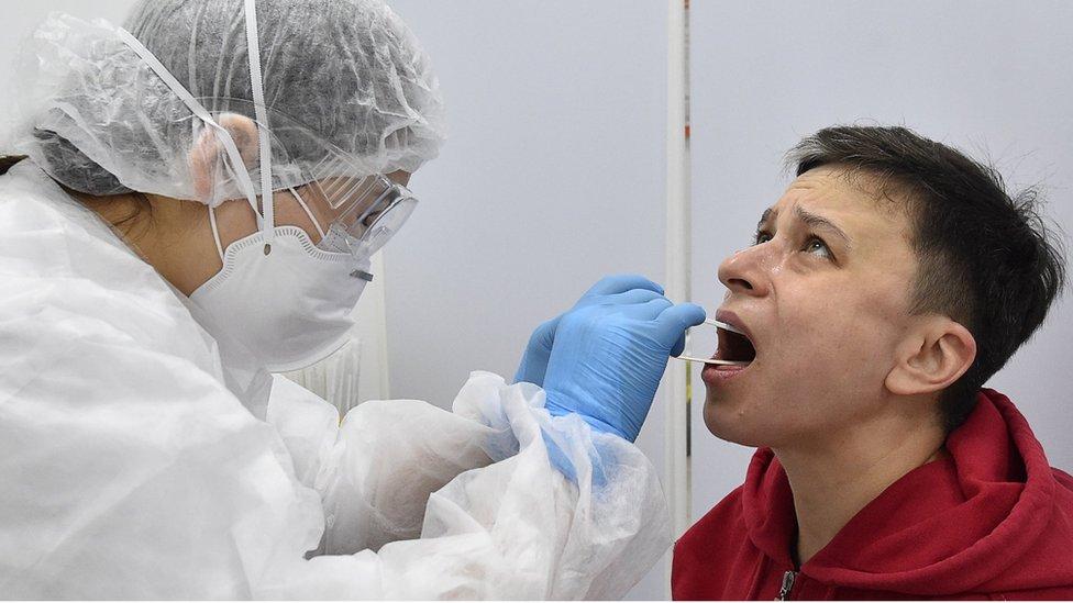Prueba de coronaviris