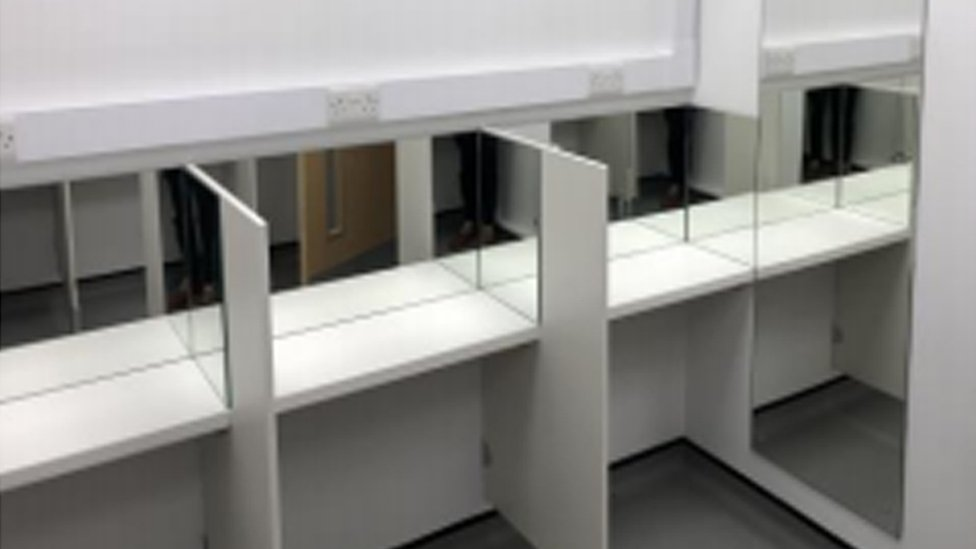 One of the rooms to be used as part of the project