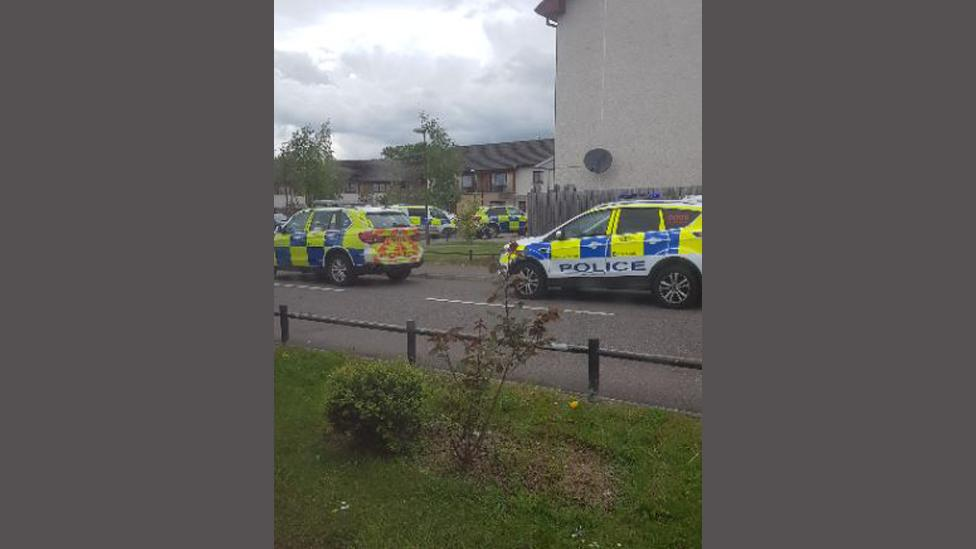 Man arrested after 'crossbow' disturbance in Livingston