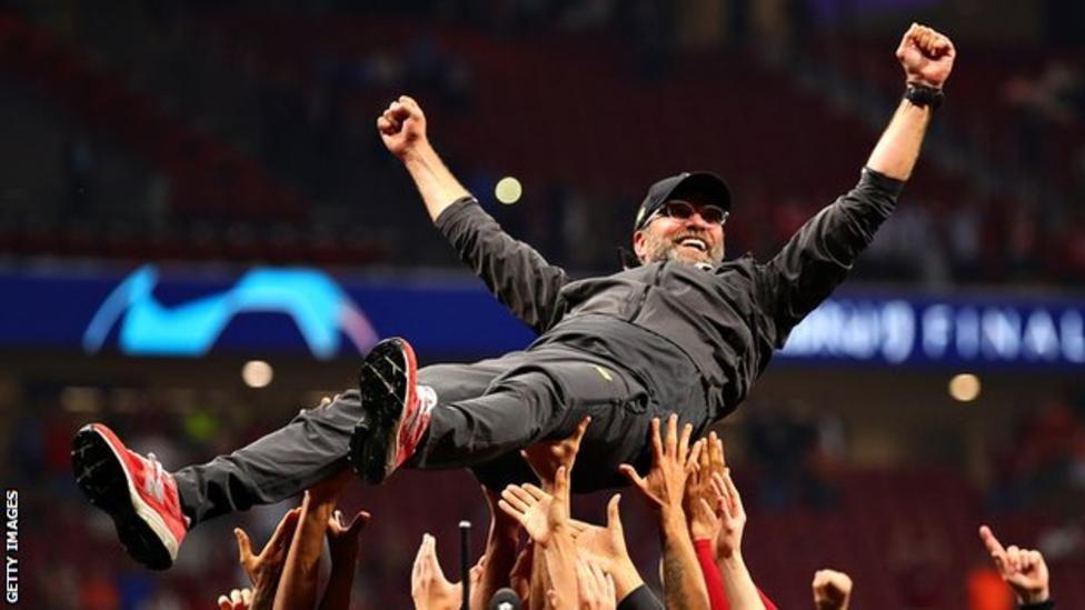 ليفربول وصل إلى نهائي بطولات أوروبا في ثلاثة مواسم منذ تولي يورغن كلوب تدريب الفريق عام 2015