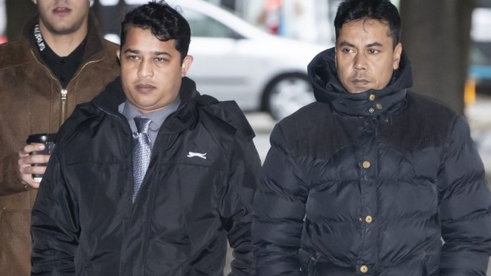 Harun Rashid (left) and Mohammed Kuddus (right)