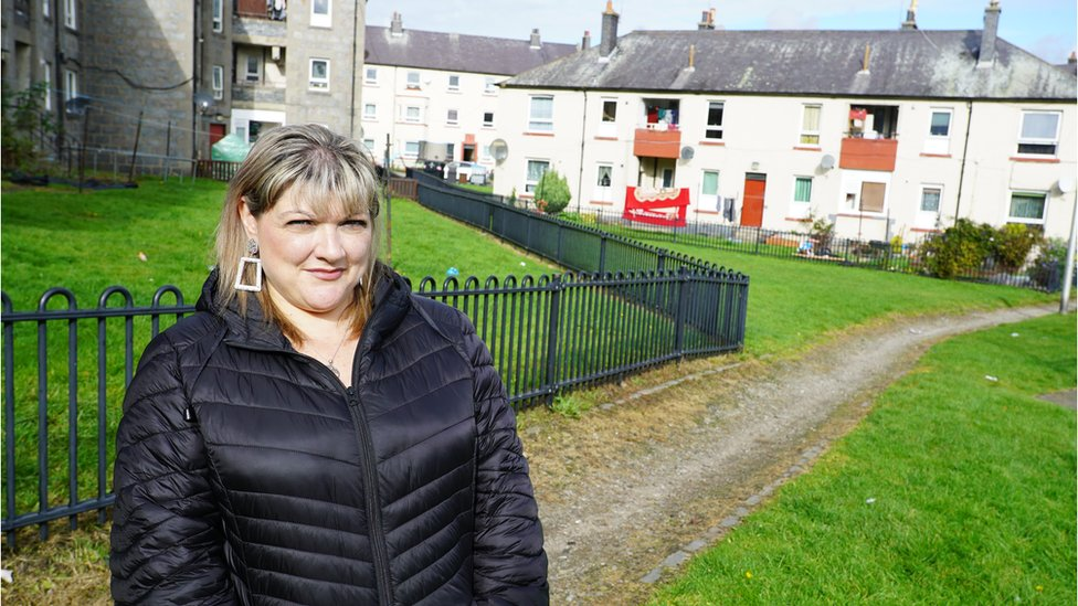 Claire Millar says Aberdeen is divided between rich and poor