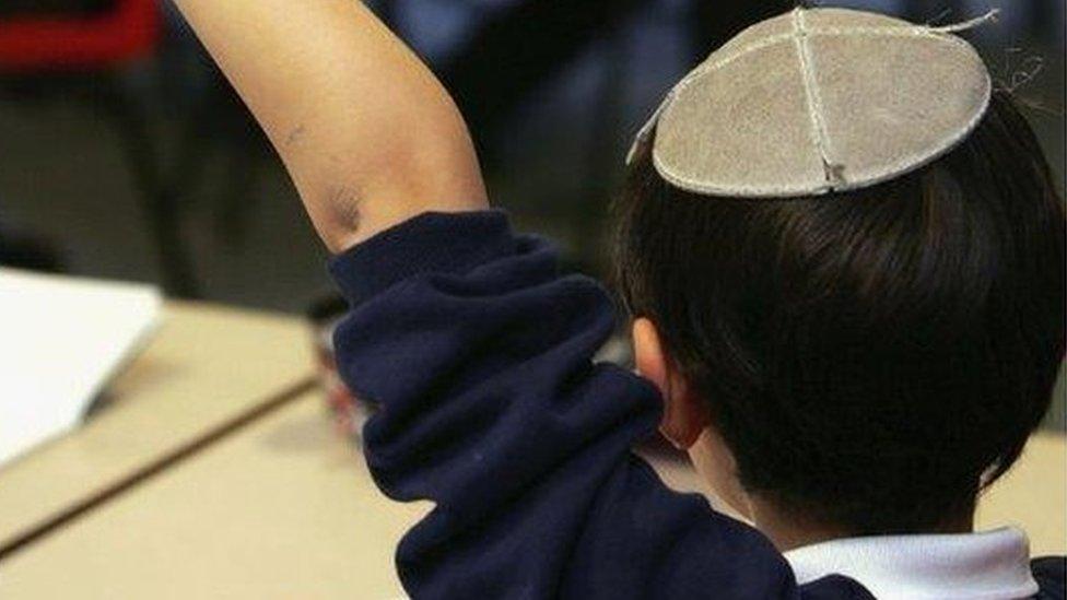 Jewish schoolchild