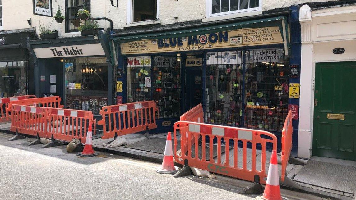WWII bomb taken to York shop sparks alert