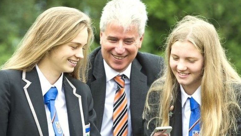 Exam results day for Scottish pupils