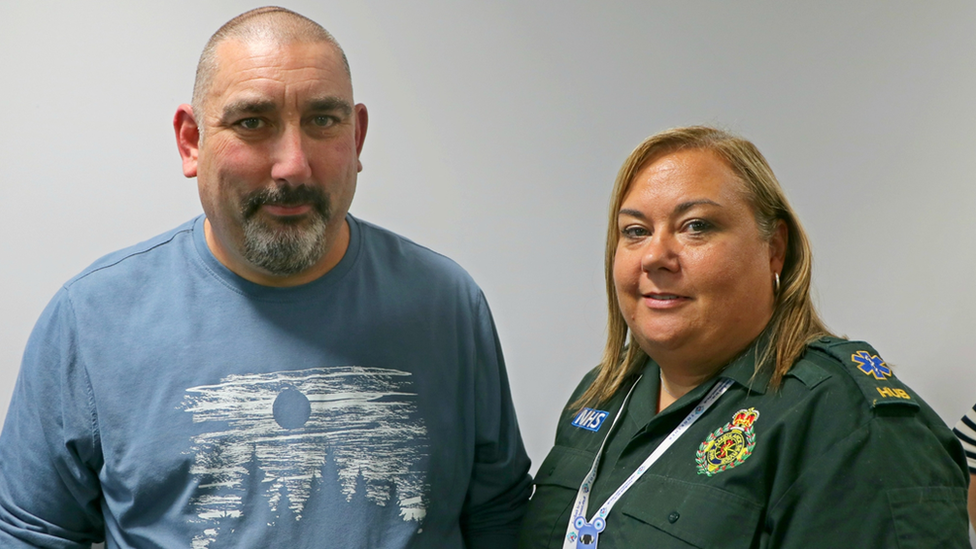 999 operator Sarah Fisher helped man revive 'dead' body