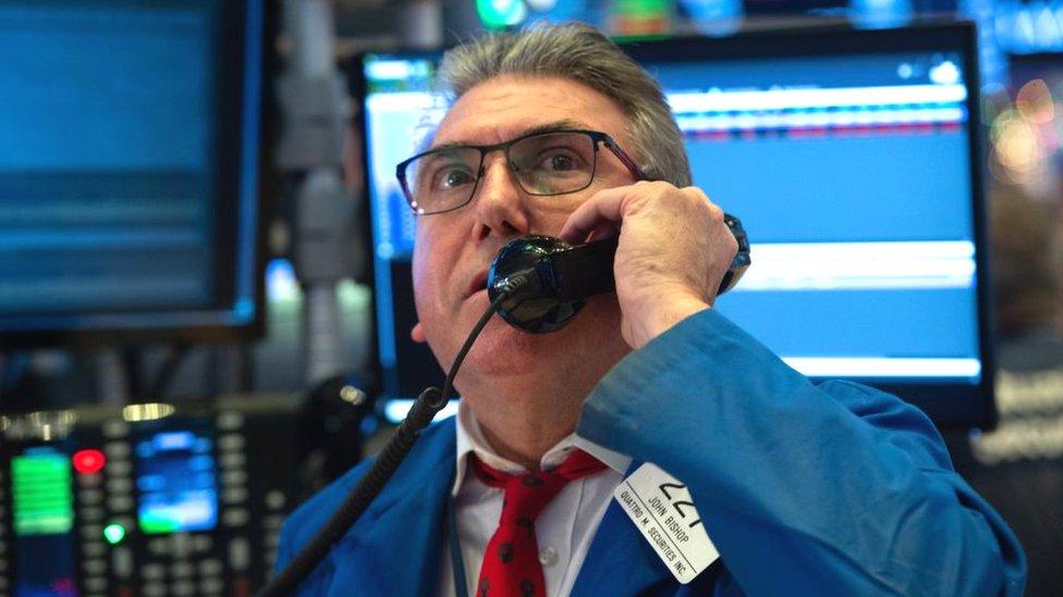 Esta ha sido la peor semana de Wall Street desde la crisis financiera de 2008.