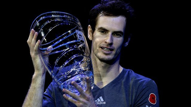 Andy Murray receives the Arthur Ashe Humanitarian Award in 2014