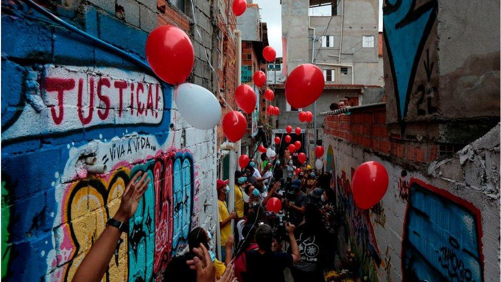 favela en Río, diciembre de 2020