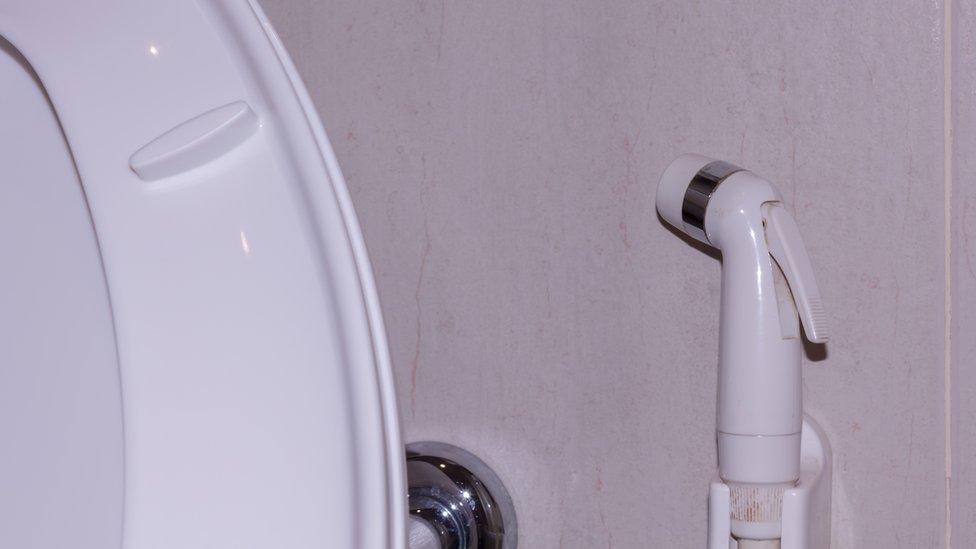 Toilet douche