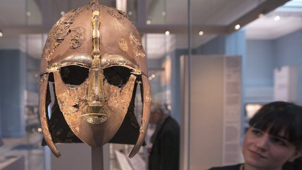 Sutton Hoo warrior's helmet