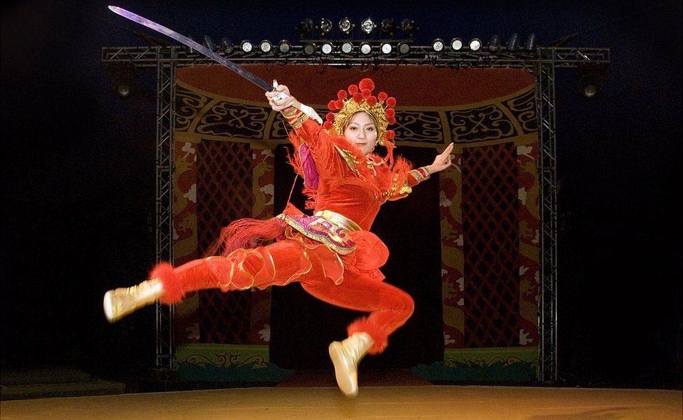 Mulan del Circo Estatal de China