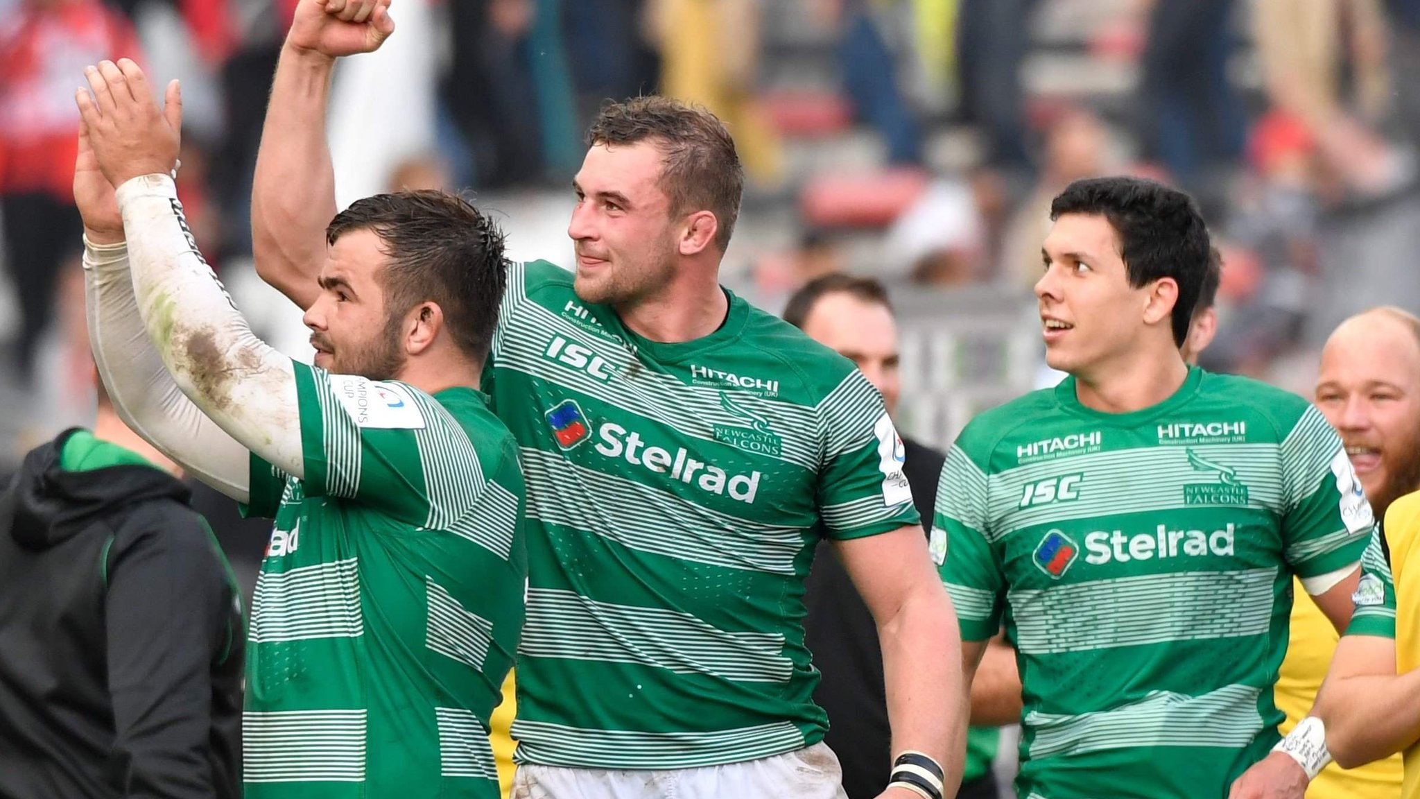 Champions Cup: Newcastle hold on for stunning victory at Toulon