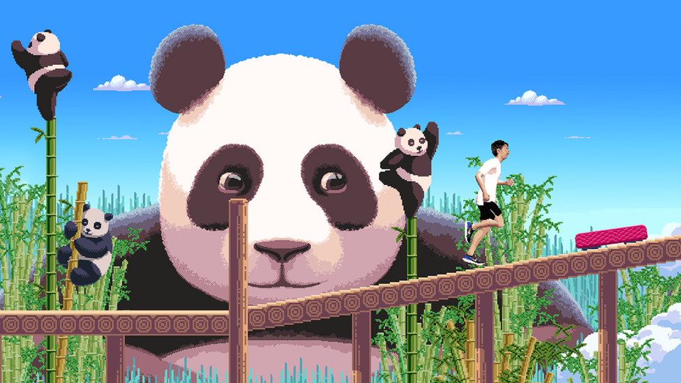 Could dancing pandas persuade you to