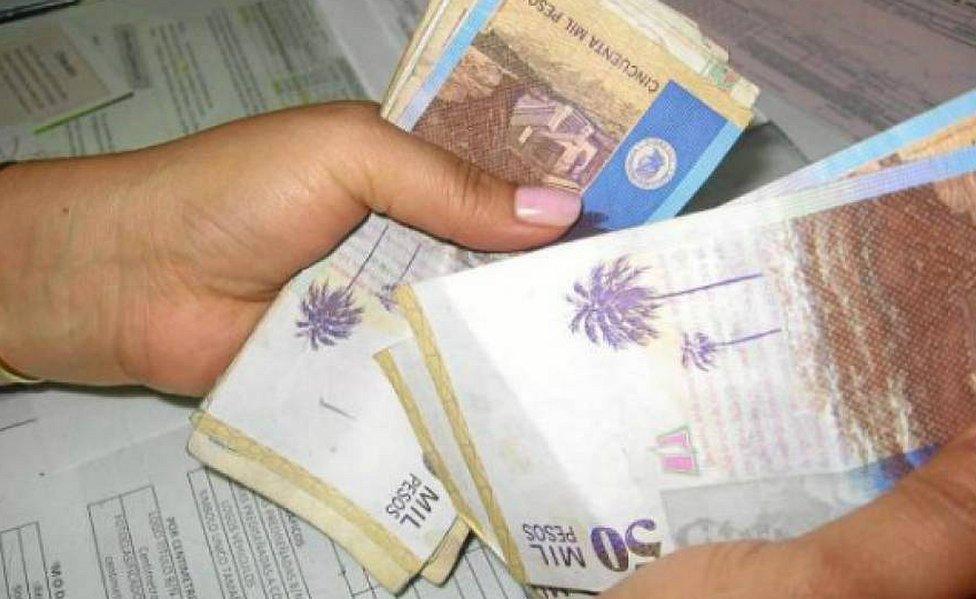 Billetes de 50.000 pesos