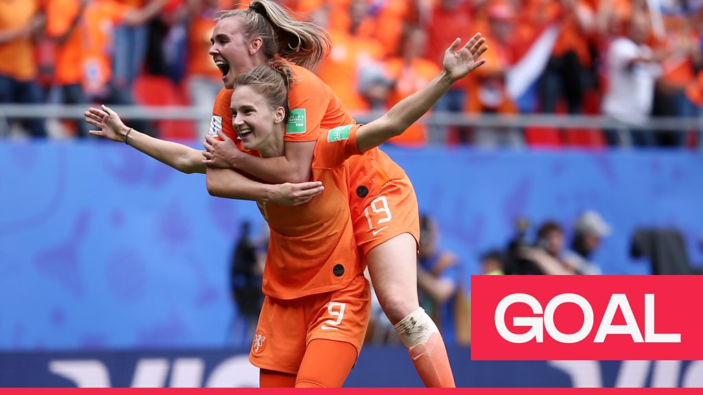 Women's World Cup 2019: Vivianne Miedema scores again to make it 3-1 Netherlands