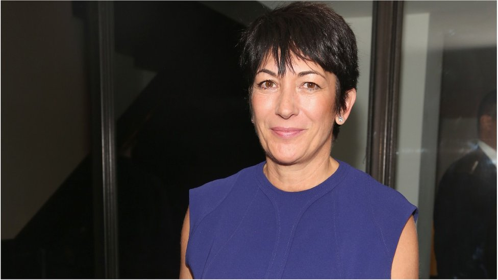 Ghislaine Maxwell attends an event in New York in October 2016