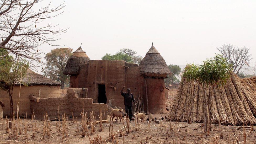 Village in Koutammakou
