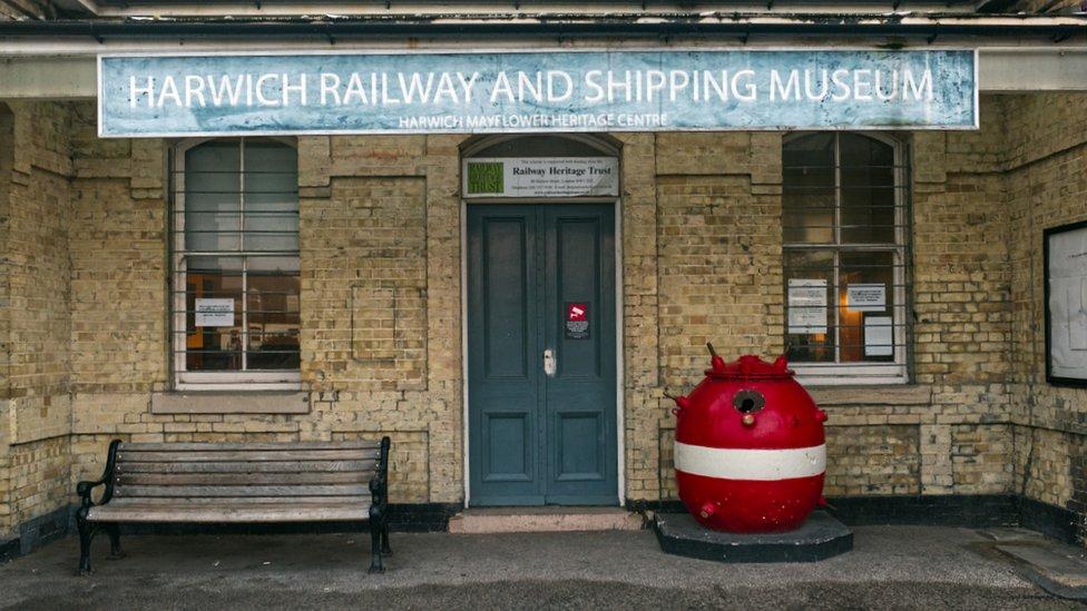 Harwich Eisenbahn- und Schifffahrtsmuseum