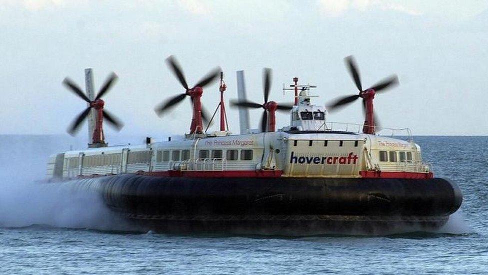 Cross-Channel hovercraft Princess Margaret scrapped