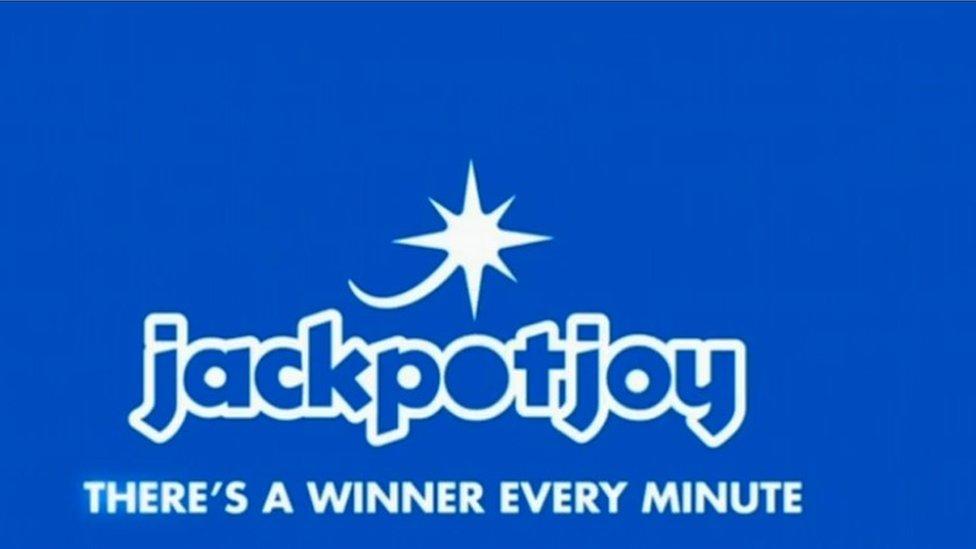 Jackpotjoy logo