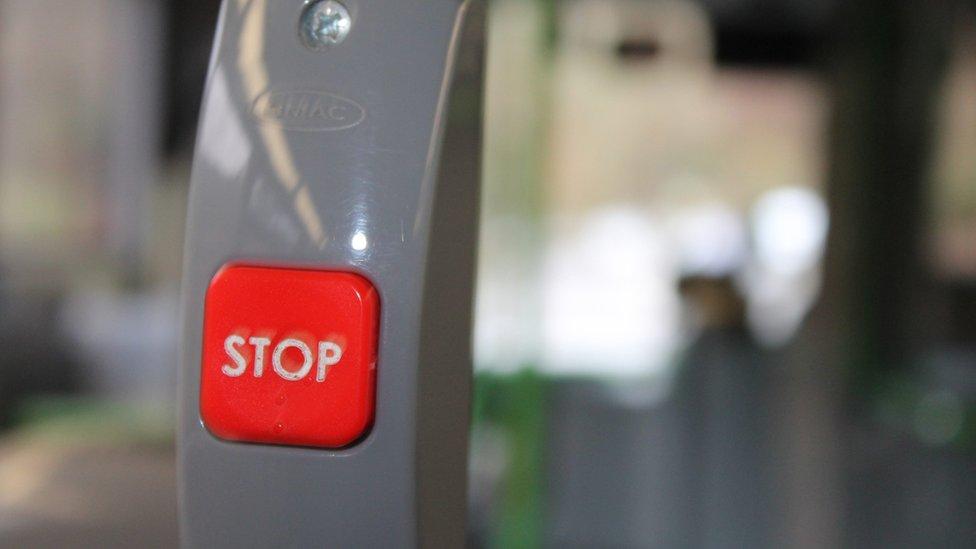 Botwm 'stop'