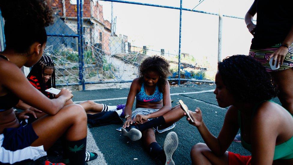 BBC News - Favela life: Rios city within a city