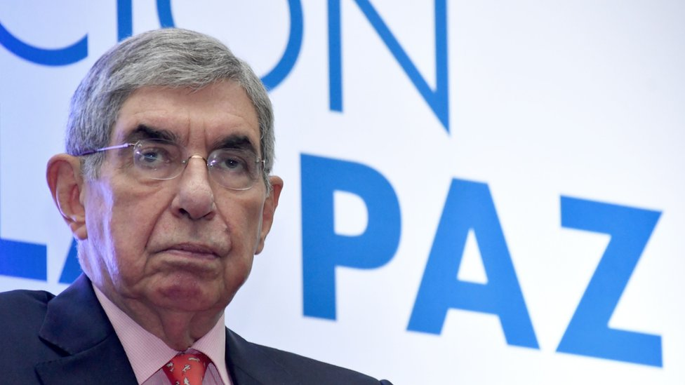Expresidente de Costa Rica y premio Nobel de la Paz, Oscar Arias.