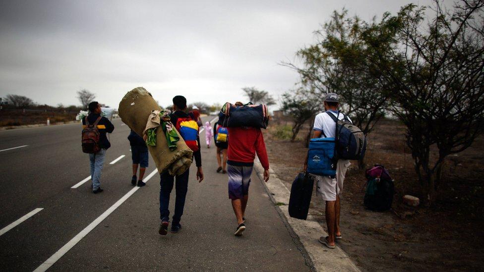 Migran Venezuela