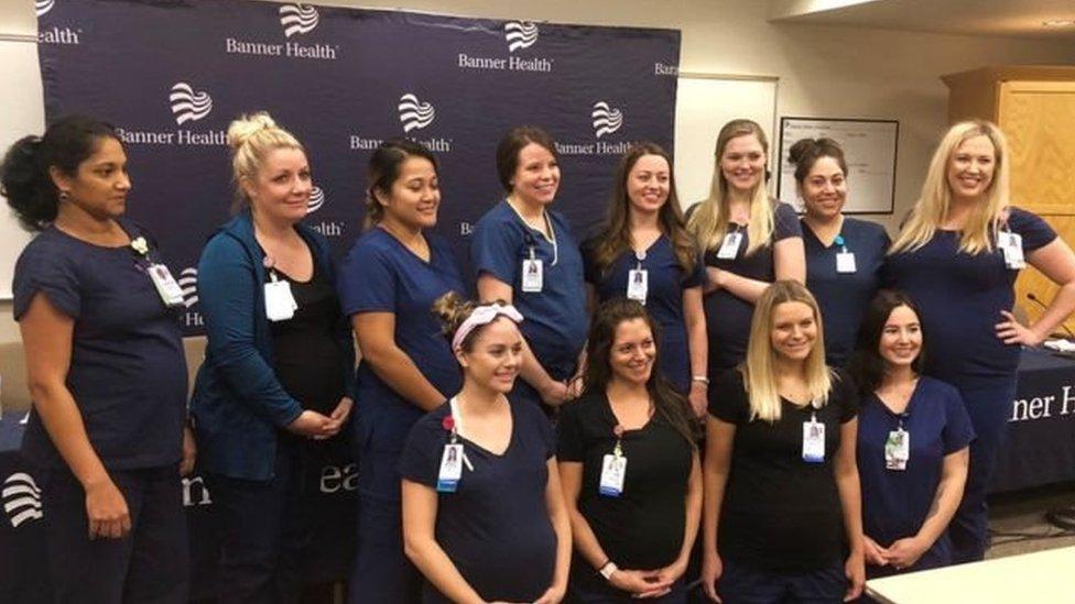 16 حاملا في مستشىفى بولايتي أروزيونا الأمريكية