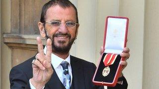 Ringo Starr receives knighthood