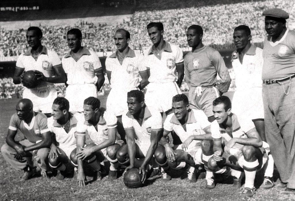 Formación de Brasil en el Mundial de 1950.