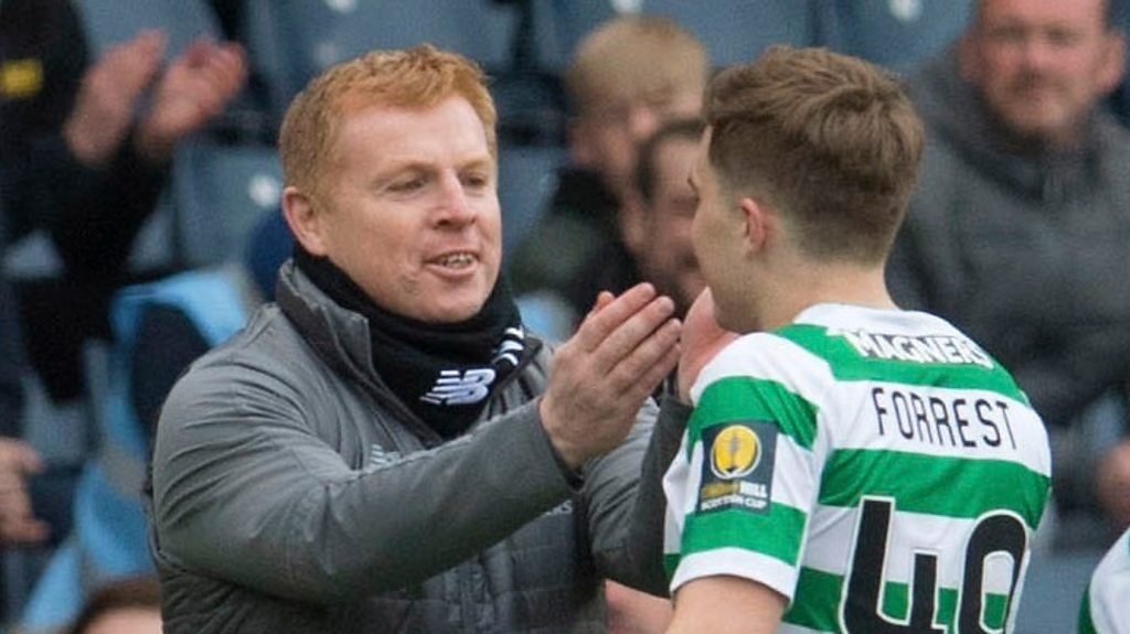Celtic squad would welcome Lennon appointment - James Forrest