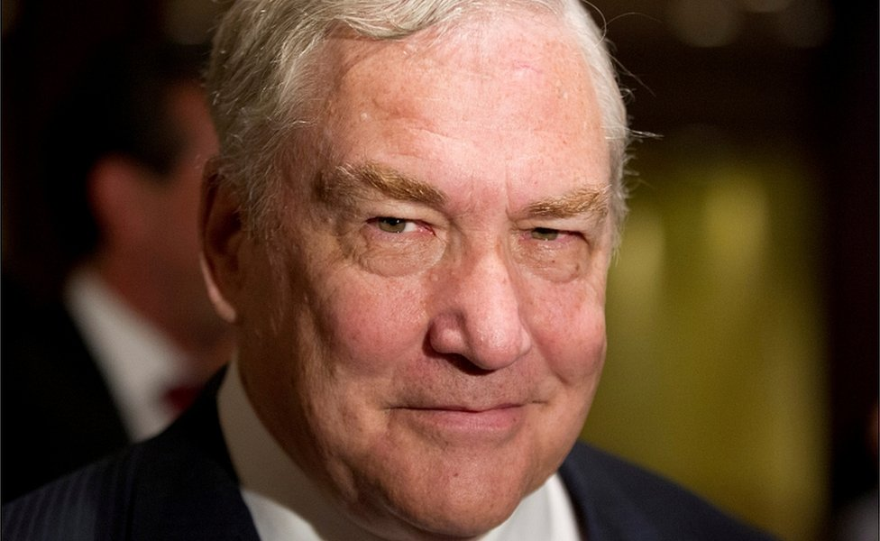 Former media mogul Conrad Black arrives at a business luncheon in Toronto, Canada June 22, 2012
