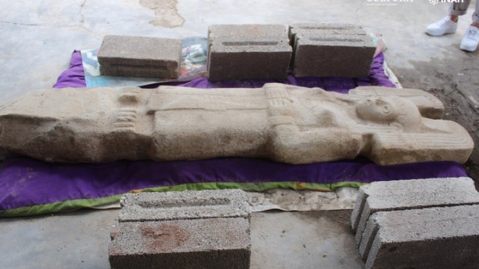 """La escultura de """"joven de Amajac"""""""