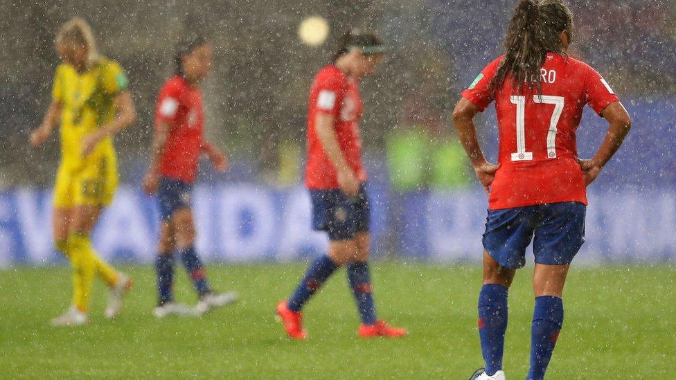 Partido entre Chile y Suecia en la Copa Mundial Femenina de Fútbol 2019