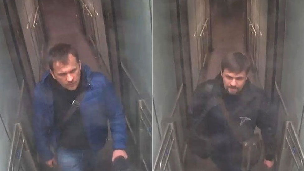 CCTV of Alexander Petrov and Ruslan Boshirov