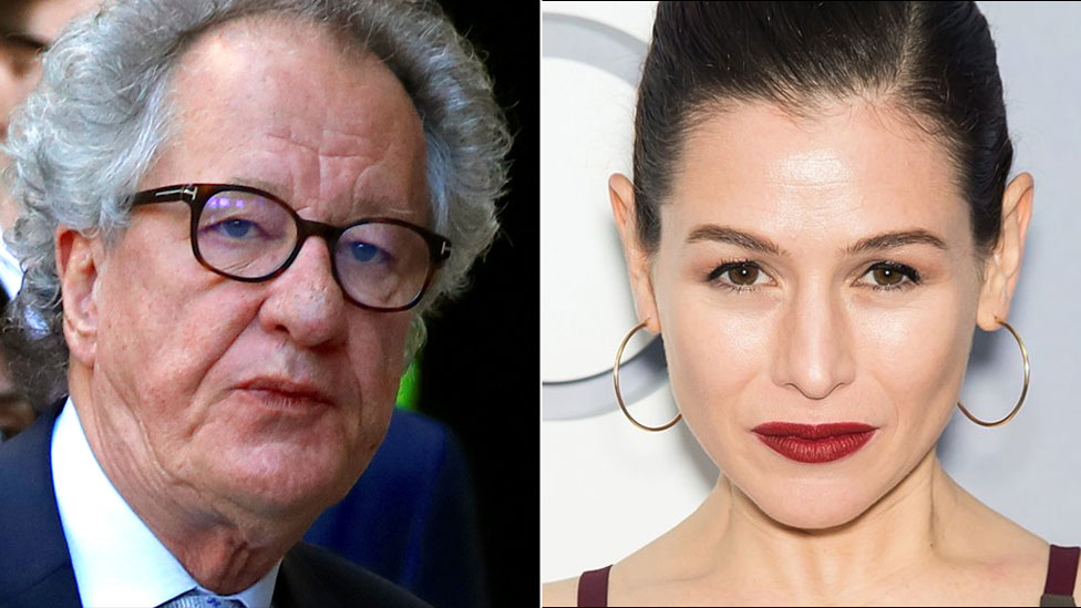 Geoffrey Rush denies misconduct allegations by co-star Yael Stone