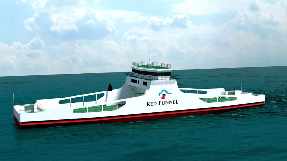 Design for new freight ferry