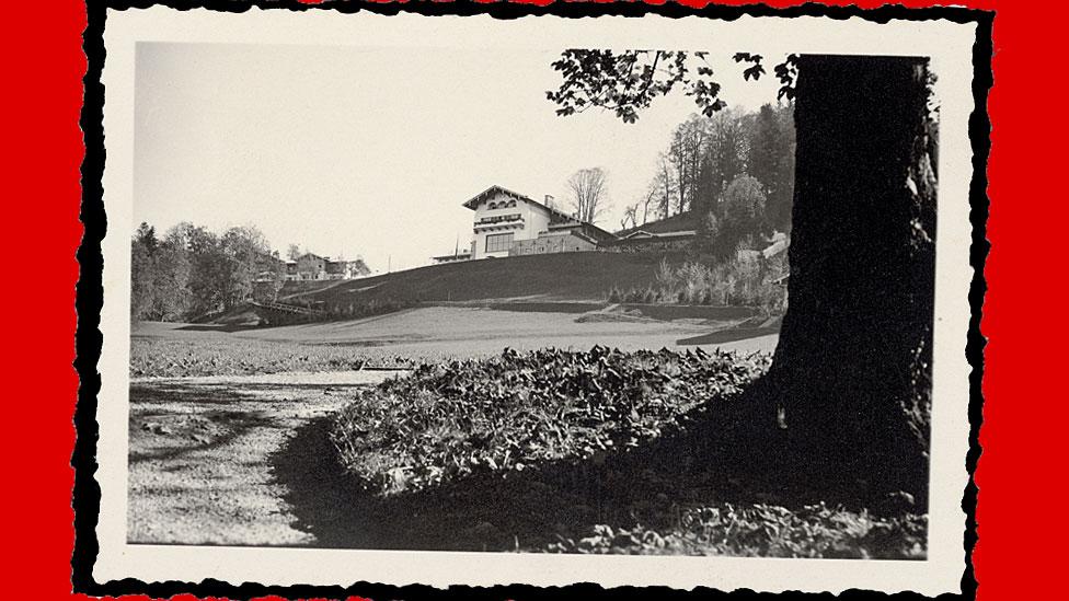Segunda residencia gubernamental y lugar de descanso Berghof en Obersalzberg, en los Alpes Bávaros.