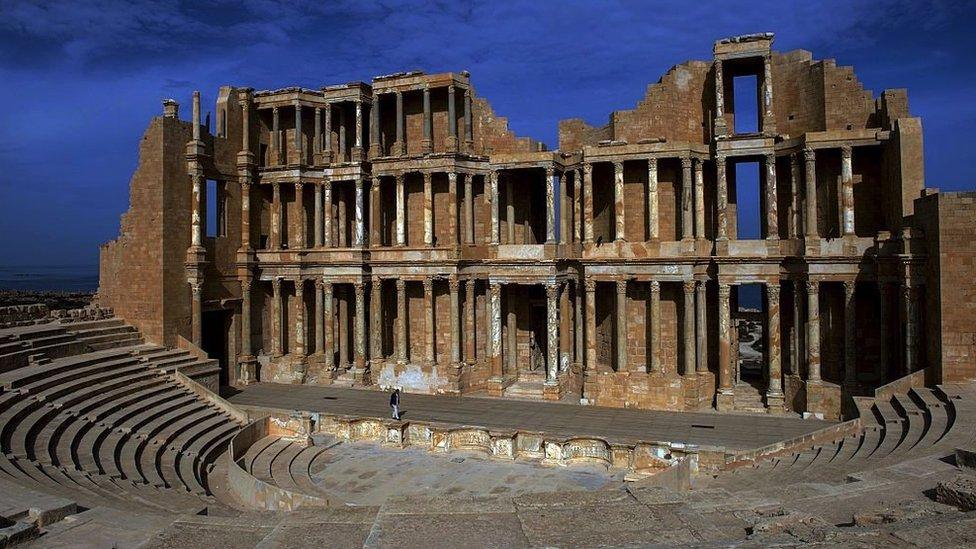Rimsko pozorište u Sabrati, Libija