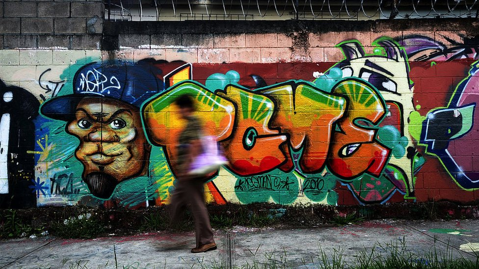 Graffitti en Mejicanos